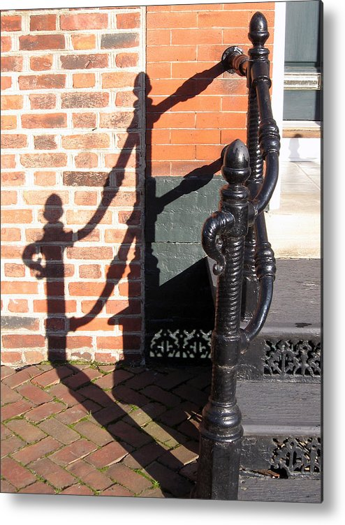 Shadow Metal Print featuring the photograph Shadow by Sean Owens