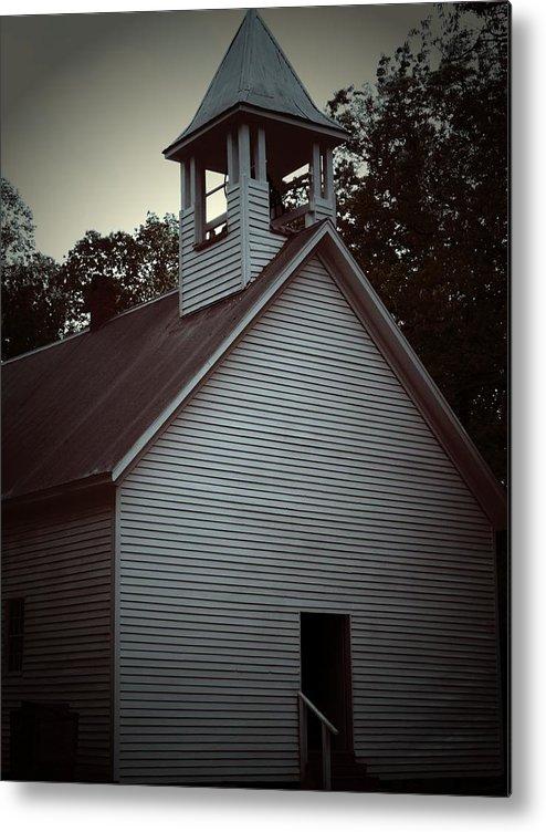 Church Metal Print featuring the photograph Silent Faith by Jessica Burgett