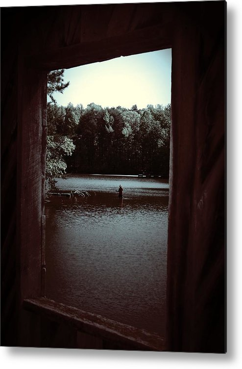 Lake Metal Print featuring the photograph Simple Times by Jessica Burgett