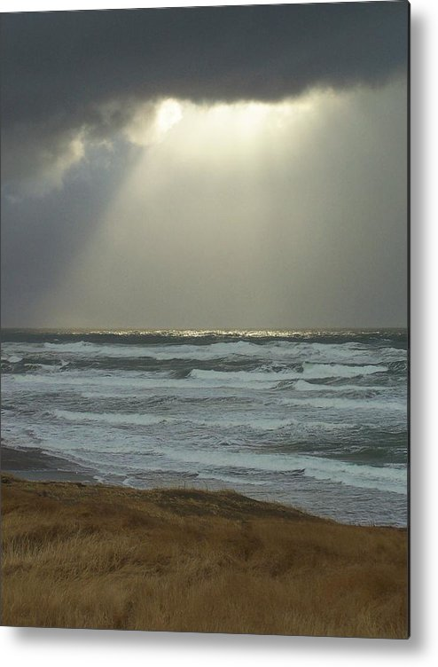 Sun Light Metal Print featuring the photograph Sun Whisper by Gene Ritchhart