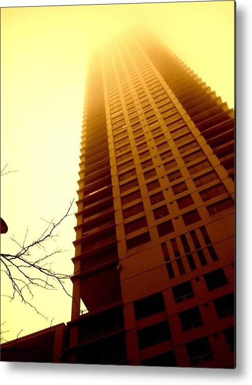Skyscraper Metal Print featuring the photograph Temperence by Ryan Mathes