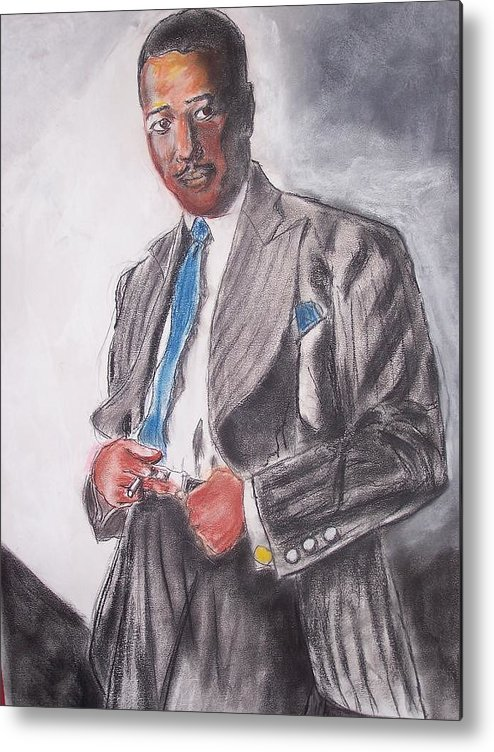 Jazz Metal Print featuring the print The Duke At The Cotton Club by Darryl Hines