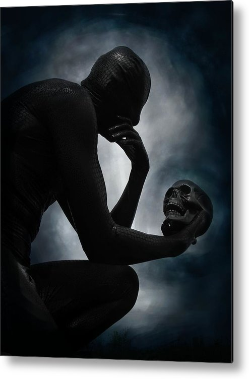 This Is The End Metal Print featuring the digital art This Is The End by Michael Knight