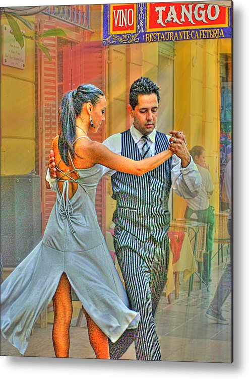 Tango Metal Print featuring the photograph Too Tango by Francisco Colon
