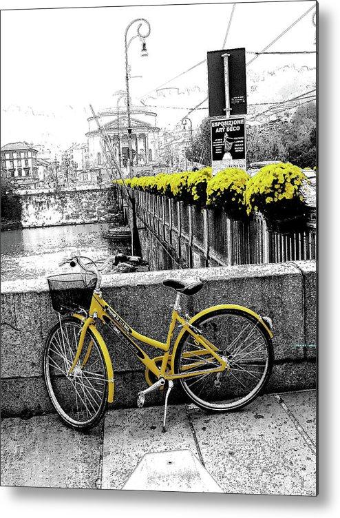 Turin Metal Print featuring the photograph Torino by Irene Spedicato