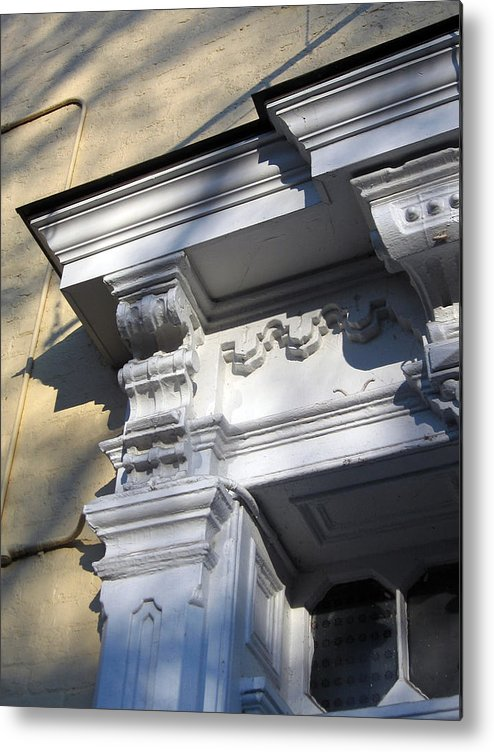 Victorian Metal Print featuring the photograph Victorian Details by Sean Owens