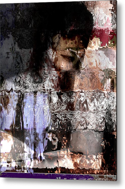 Photo Metal Print featuring the digital art American Me by Xavier Carter