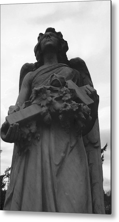 Angel Metal Print featuring the photograph The Guardian by Valerie Josi