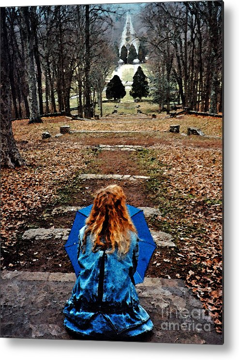 Park Metal Print featuring the photograph Find Me by Lydia Holly