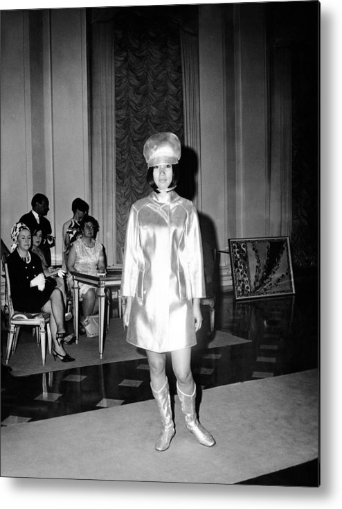 History Metal Print featuring the photograph Emilio Pucci Ensemble Influenced by Everett