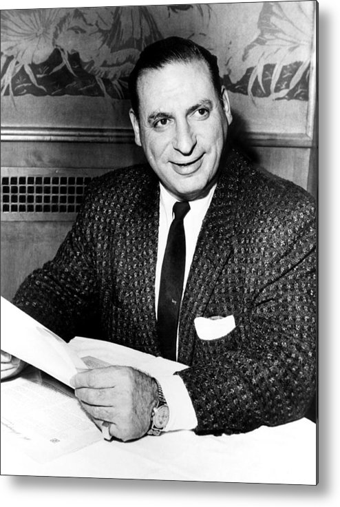 1950s Metal Print featuring the photograph Irv Kupcinet, Circa 1950s by Everett