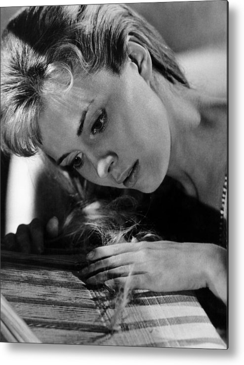 1964 Movies Metal Print featuring the photograph Lilith, Jean Seberg, 1964. Csu by Everett
