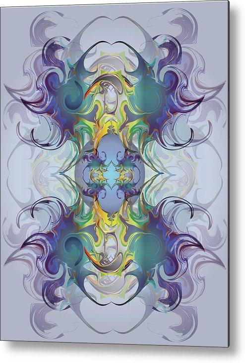 Fantasy Metal Print featuring the digital art Fantasy V by George Pasini
