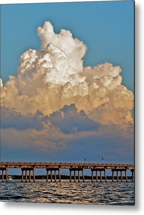 Howey Metal Print featuring the photograph Howey Bridge by Jonathan Brown