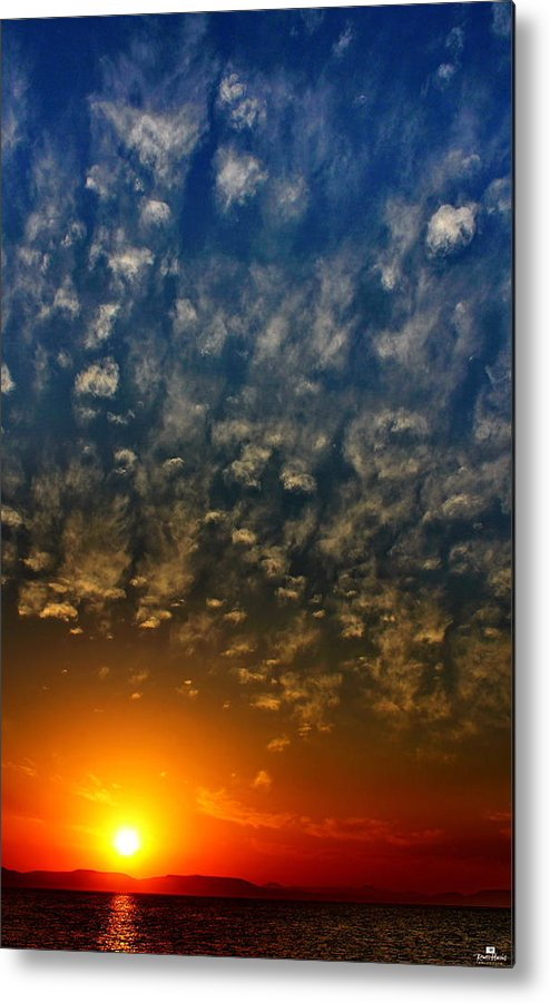 Sea Of Cortez Metal Print featuring the photograph Baja Sunset by Russ Harris