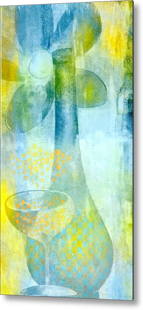 Happy Days Metal Print featuring the painting Happy Days by Jude Reid