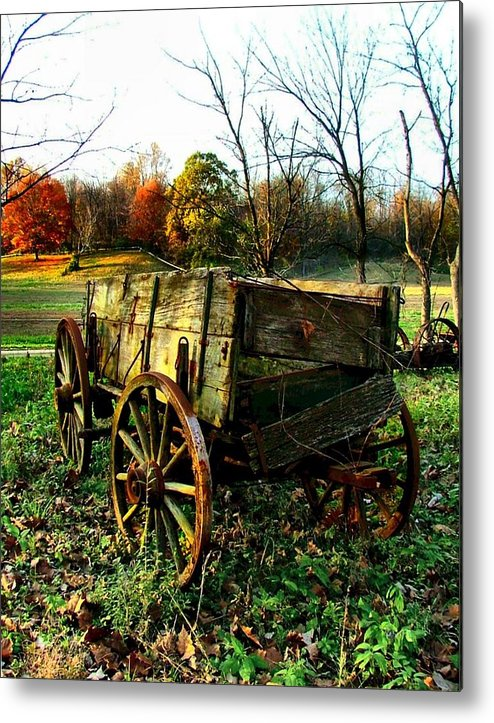 Conestoga Metal Print featuring the photograph The Old Conestoga by Julie Dant
