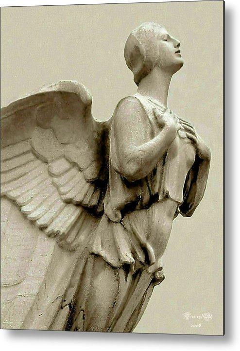 Angel Metal Print featuring the digital art Angel by Terry Burgess