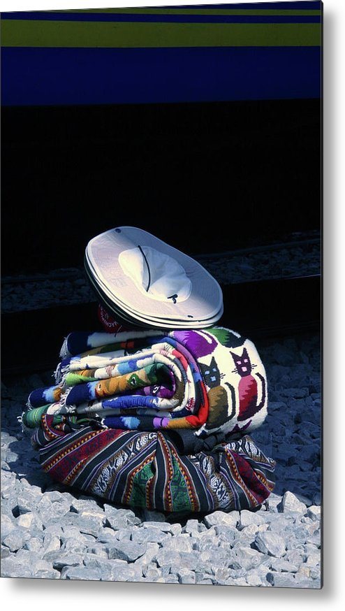 Photograph Metal Print featuring the photograph Peruvian Still Life by Susan Schumann