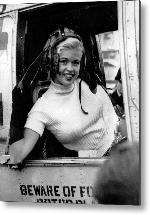 classic Metal Print featuring the photograph Jayne Mansfield by Retro Images Archive