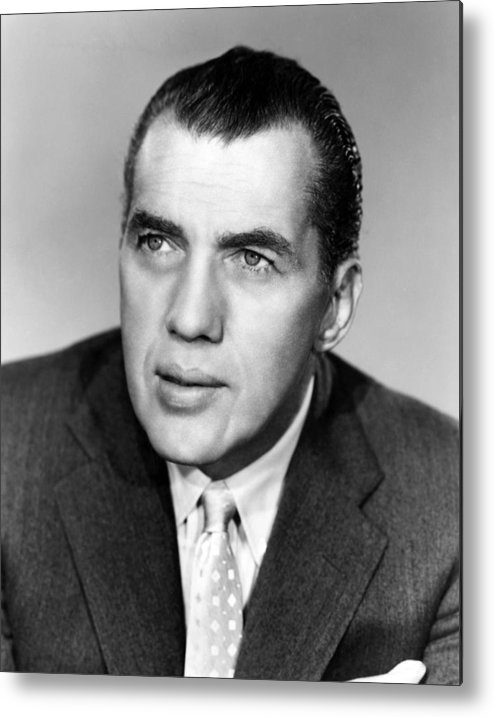1950s Portraits Metal Print featuring the photograph Ed Sullivan 1901-1974, American Writer by Everett