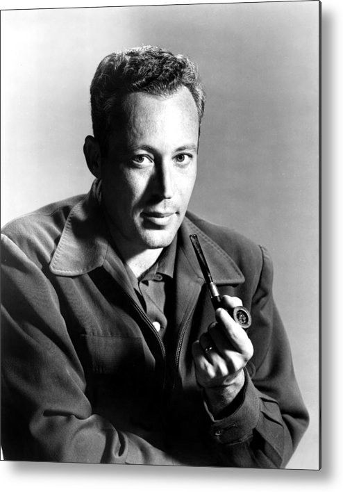 1950s Portraits Metal Print featuring the photograph Leon Uris, Circa Mid-1950s by Everett
