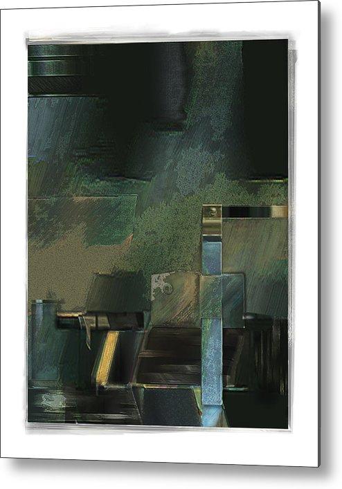 Still Life Metal Print featuring the digital art Pump by Nuff