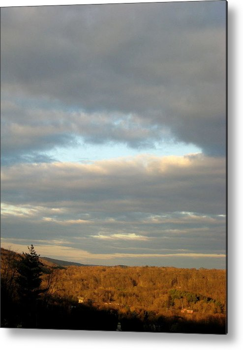 Skyview Metal Print featuring the photograph Cloud Break by Marcia Crispino