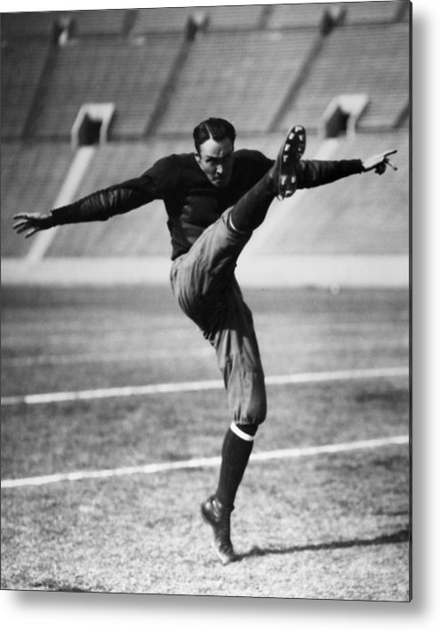 20th Century Metal Print featuring the photograph Football, 20th Century by Granger