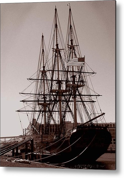 Salem Metal Print featuring the photograph Friendship Salem by Heather Weikel