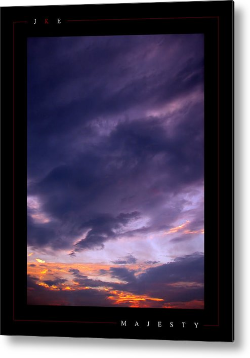 Sky Metal Print featuring the photograph Majesty by Jonathan Ellis Keys