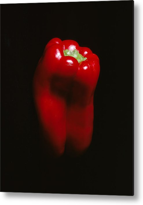 Pepper Metal Print featuring the photograph Red Pepper by Jessica Wakefield
