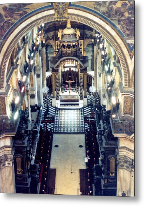Cathedral Metal Print featuring the photograph St Paul Cathedral by Jennifer Ott