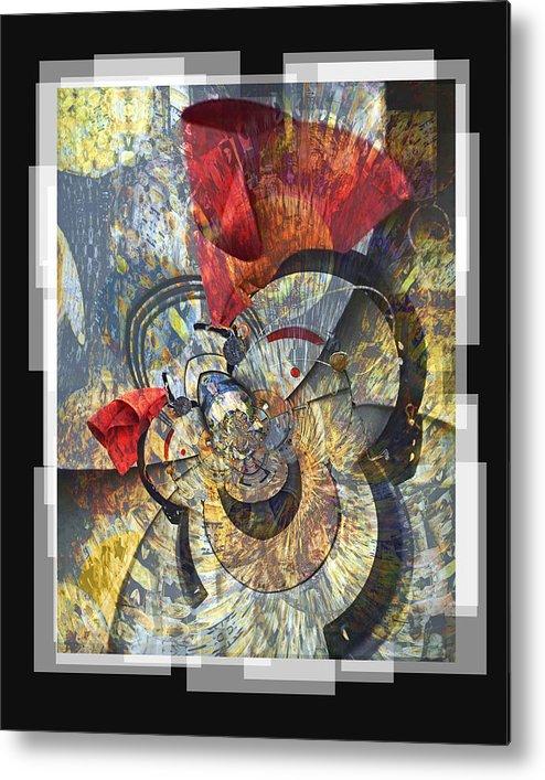 Bang Metal Print featuring the digital art The Big Bang by Chuck Brittenham