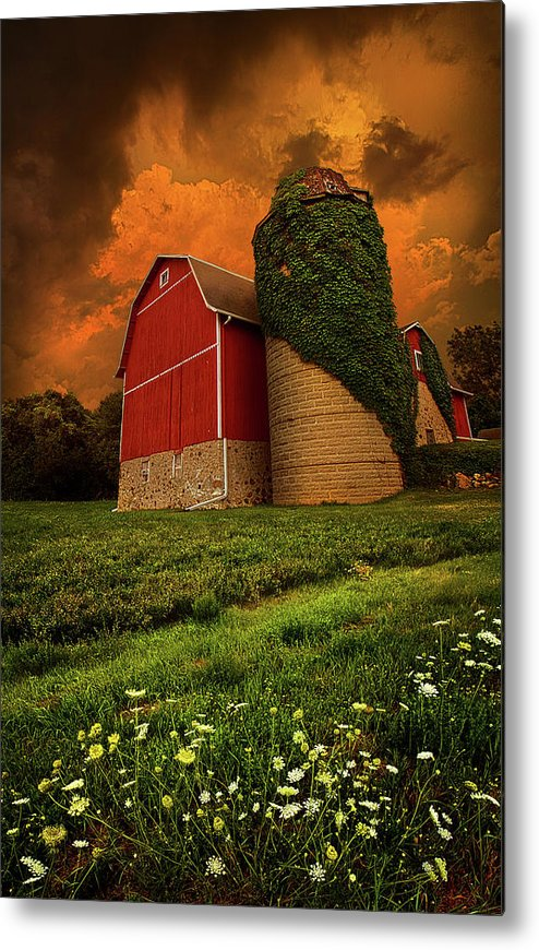Horizons Metal Print featuring the photograph Sentient by Phil Koch