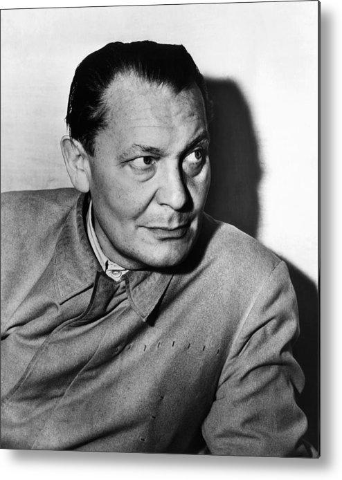 1940s Portraits Metal Print featuring the photograph Nazi War Criminal Hermann Goering, Ca by Everett