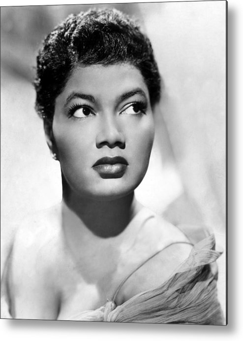 1950s Portraits Metal Print featuring the photograph Pearl Bailey, Portrait Ca. 1952 by Everett