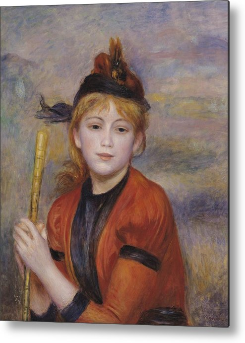 The Rambler Metal Print featuring the painting The Rambler by Pierre Auguste Renoir