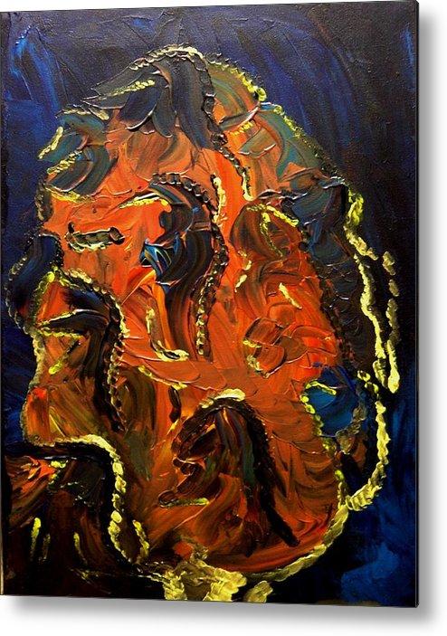 Change Metal Print featuring the painting Metamorphosis by Karen L Christophersen