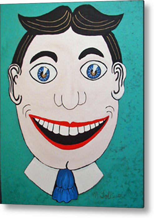 Tillie Metal Print featuring the painting Tille by Norma Tolliver
