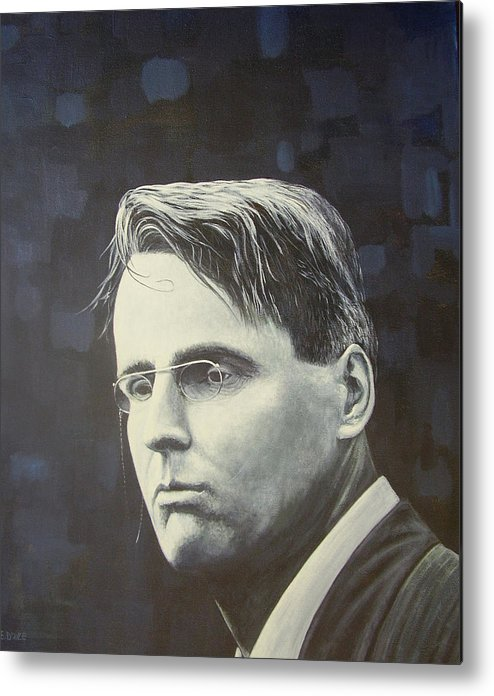 W.b. Yeats Metal Print featuring the painting W.b. Yeats by Eamon Doyle