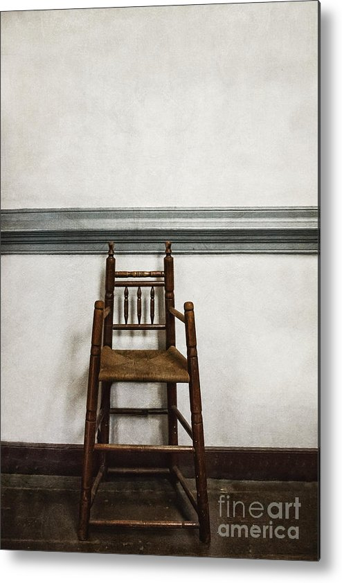 High Chair Metal Print featuring the photograph Comforts Of Home by Margie Hurwich