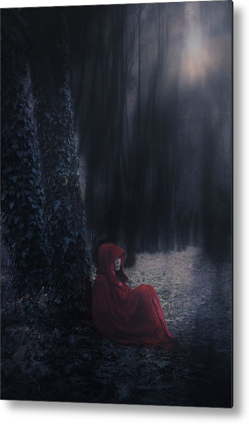 Woman Metal Print featuring the photograph Fairy Tale by Joana Kruse