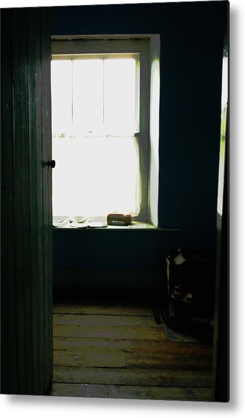 Ireland Room Window Door Architecture Interior Metal Print featuring the photograph Room In Ireland by Susan Grissom