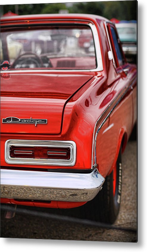 1963 Metal Print featuring the photograph 1963 Dodge 426 Ramcharger Max Wedge by Gordon Dean II
