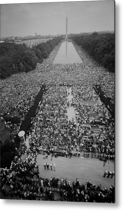 History Metal Print featuring the photograph 1963 March On Washington, At The Height by Everett