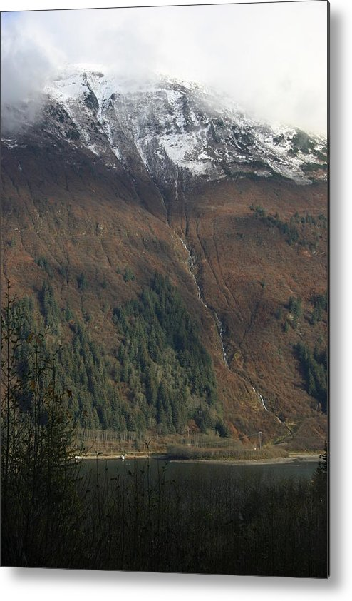 Alaska Metal Print featuring the photograph Across The Channel by Jeffrey Ober