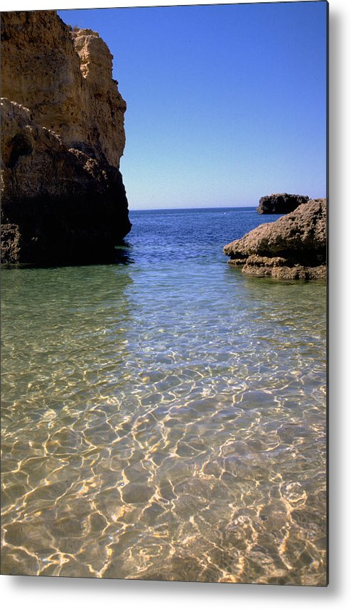 Algarve Metal Print featuring the photograph Algarve I by Flavia Westerwelle