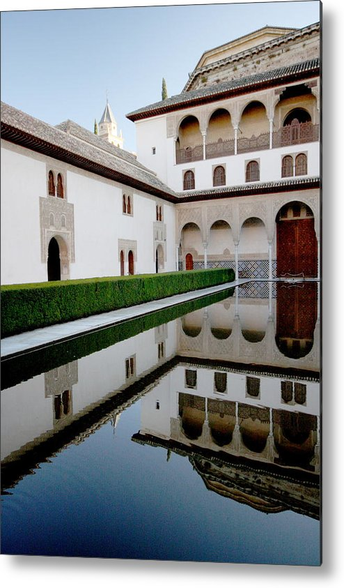 Alhambra Metal Print featuring the photograph Alhambra by Jason Hochman