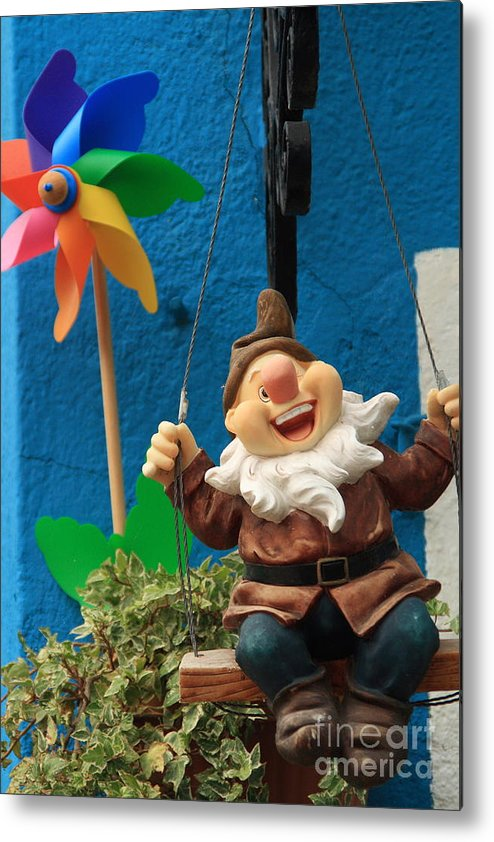 Seven Dwarf Metal Print featuring the photograph Dwarf On Burano by Michael Henderson